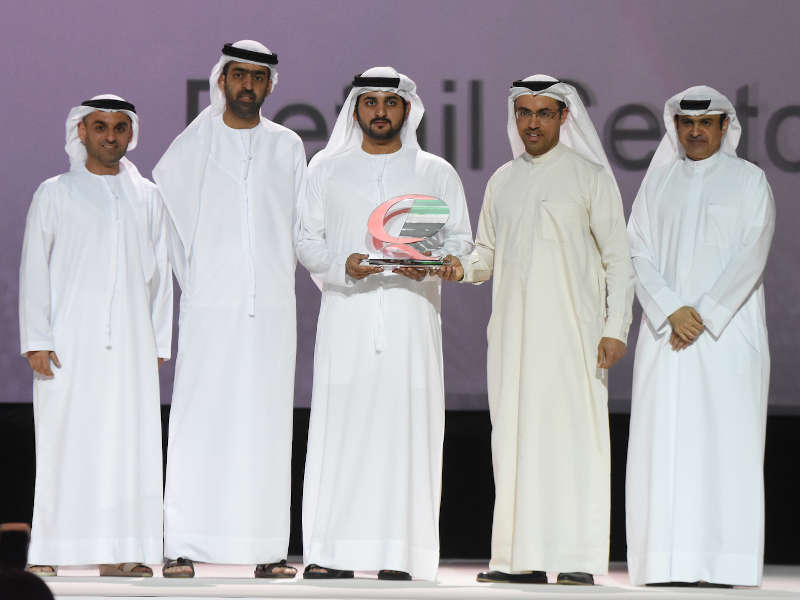 aswaaq receives the Dubai Quality Award and Dubai Service Excellence Scheme Award