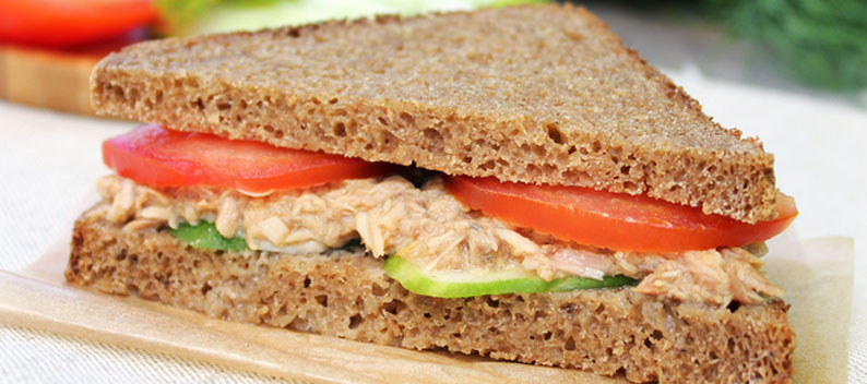 Tuna Mayonnaise Sandwich